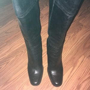 Nice black leather boots